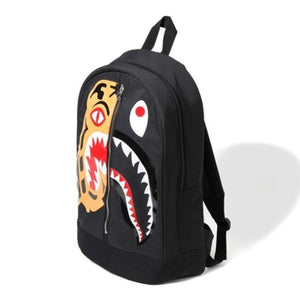 Bape Shark Backpack >> Bape Tiger Shark Back Pack