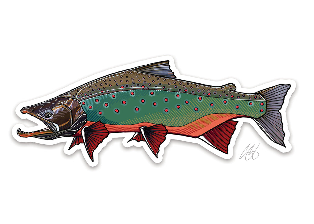 Arctic Char Decal