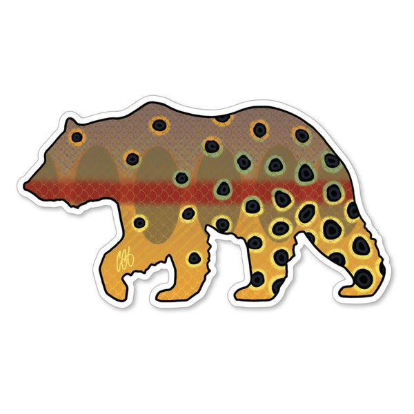 Bear Golden Decal