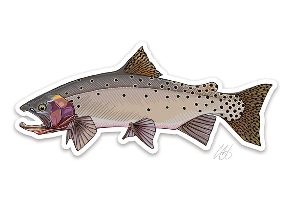 Bonneville Cutthroat Decal