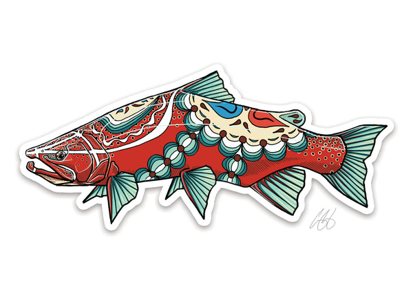 Dala Trout Decal