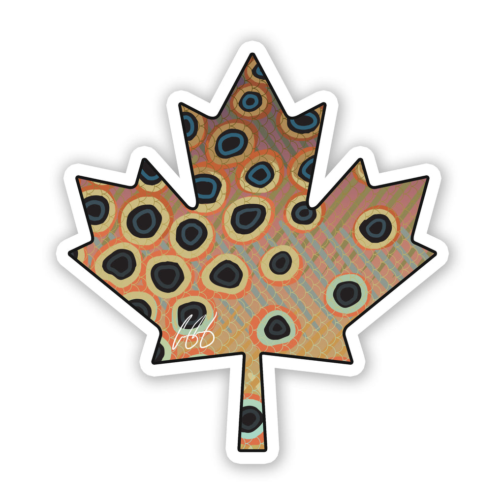 Canada Cutthroat Trout Decal