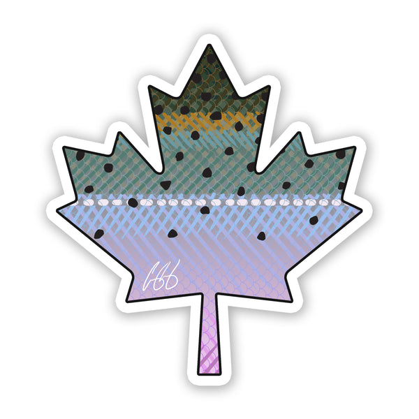 Canada Steelhead Decal