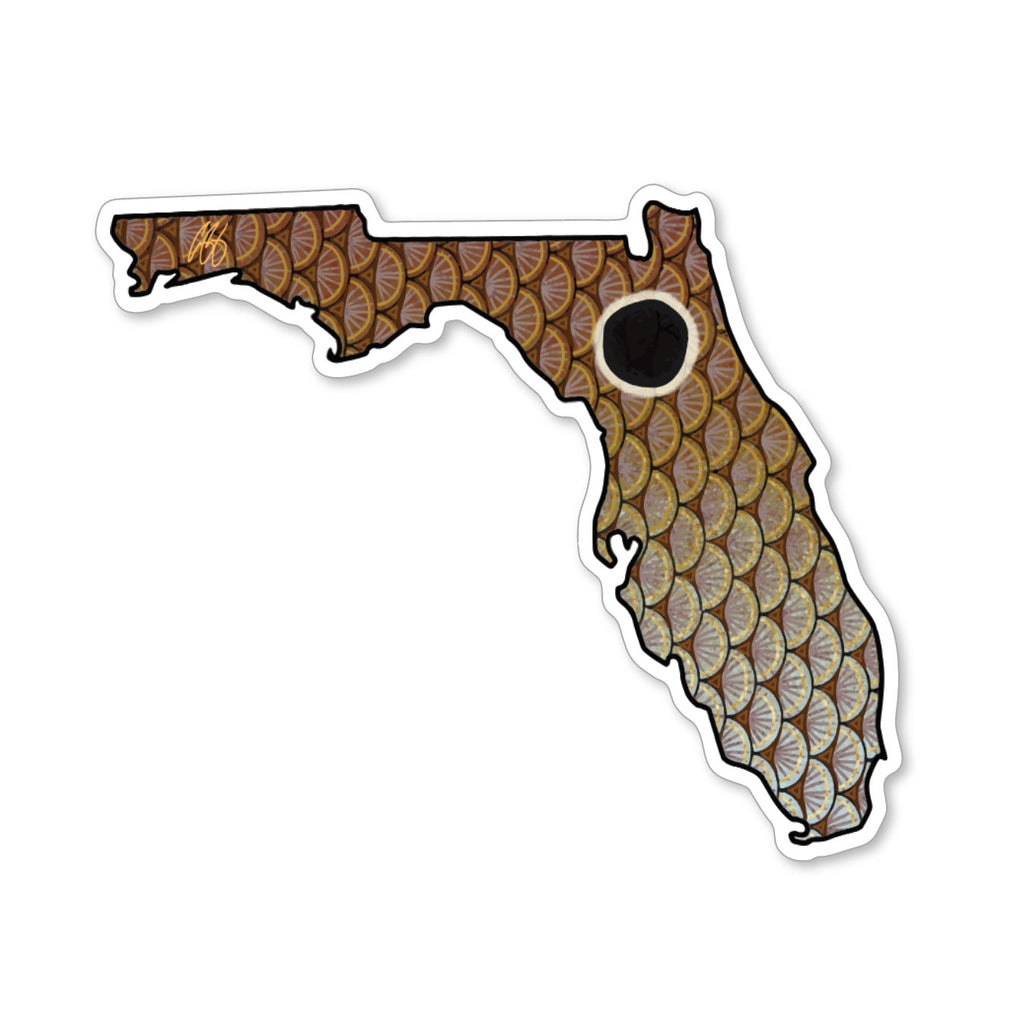 Florida Redfish Decal