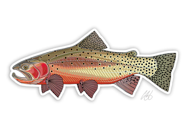 Greenback Cutthroat Decal