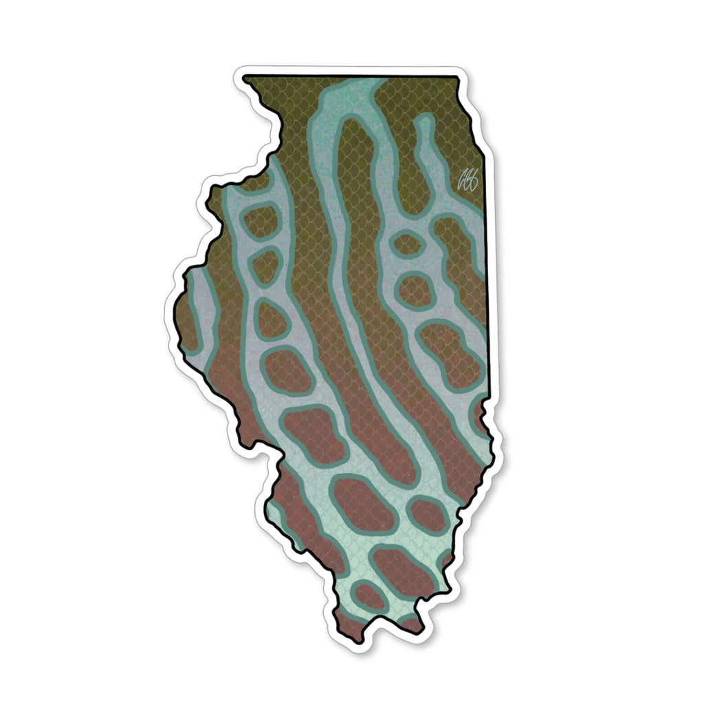 Illinois Muskie Decal