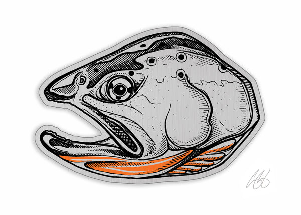Brushed Alloy Cutty Decal