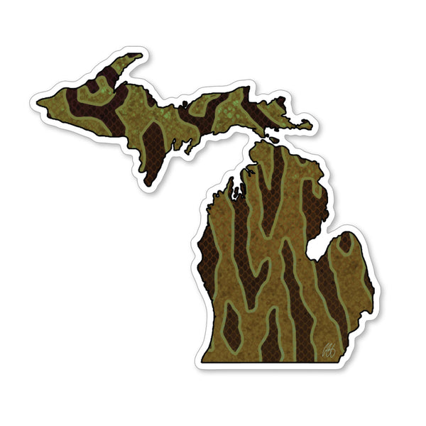 Michigan Smallmouth Decal