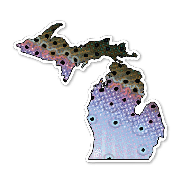 Michigan Steelhead Decal