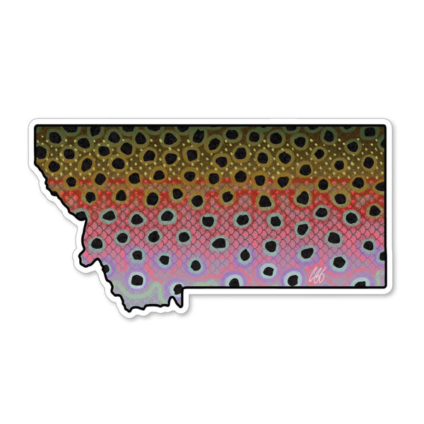 Montana Rainbow Decal