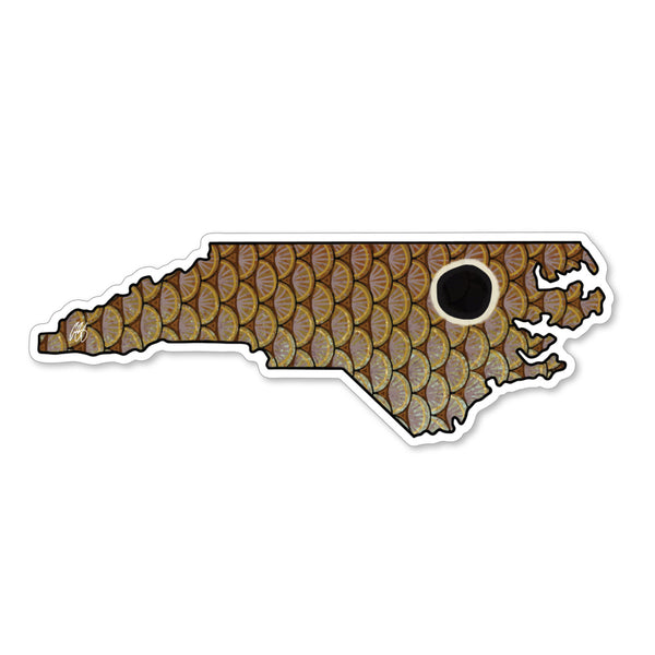 North Carolina Redfish Decal