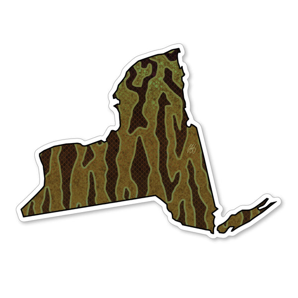 New York Smallmouth Decal