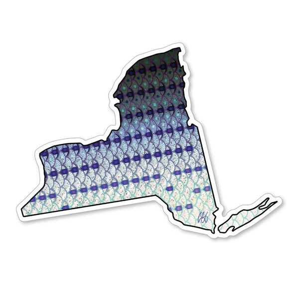 New York Striper Decal