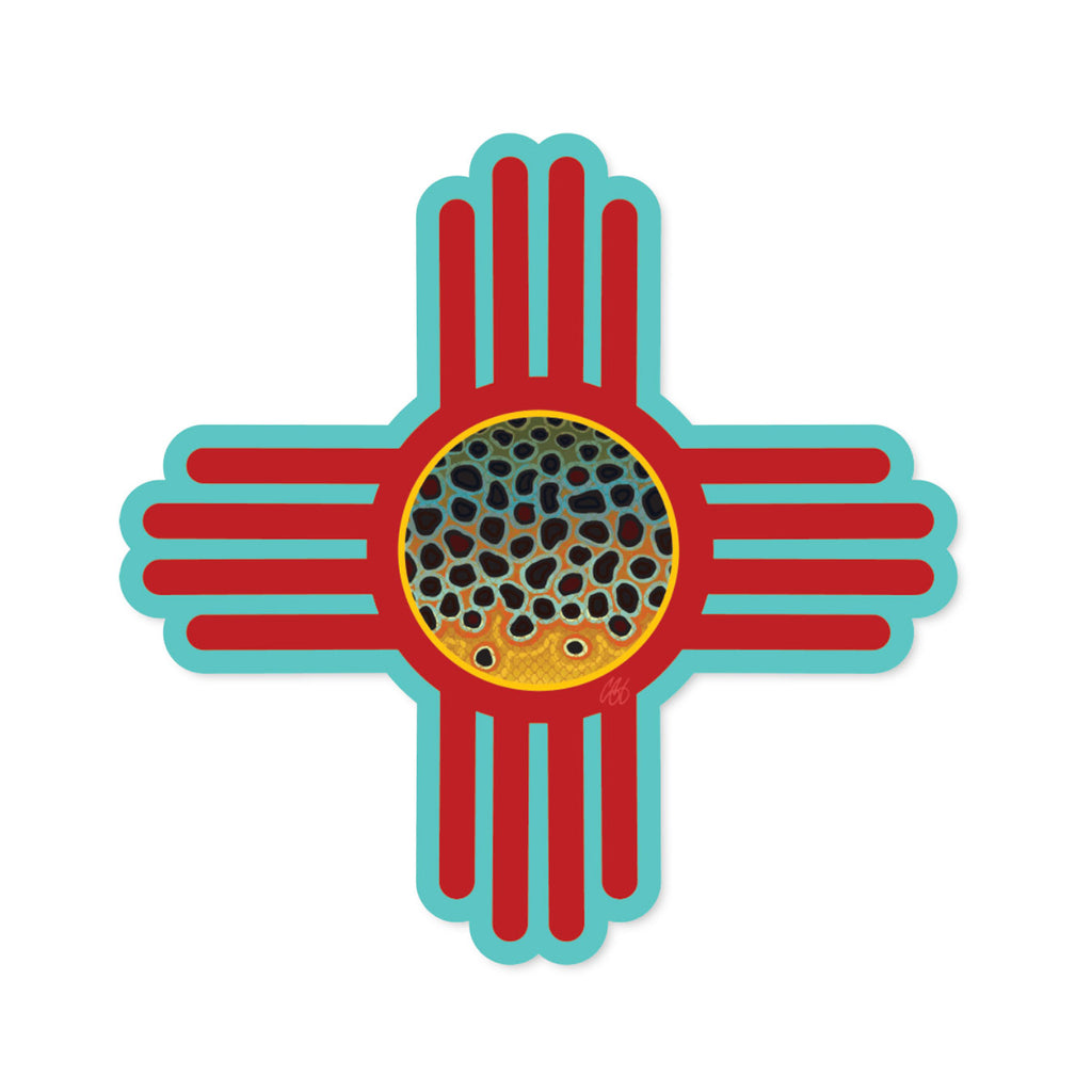 New Mexico Brown Decal