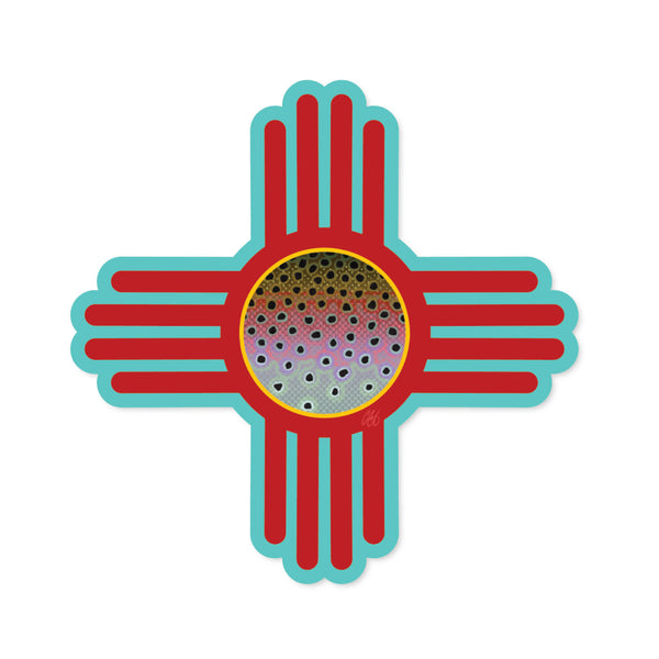 New Mexico Rainbow Decal