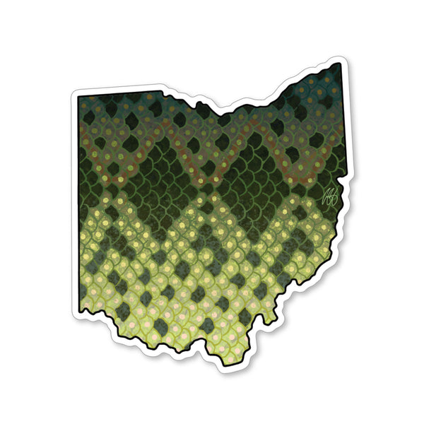 Ohio Largemouth Decal