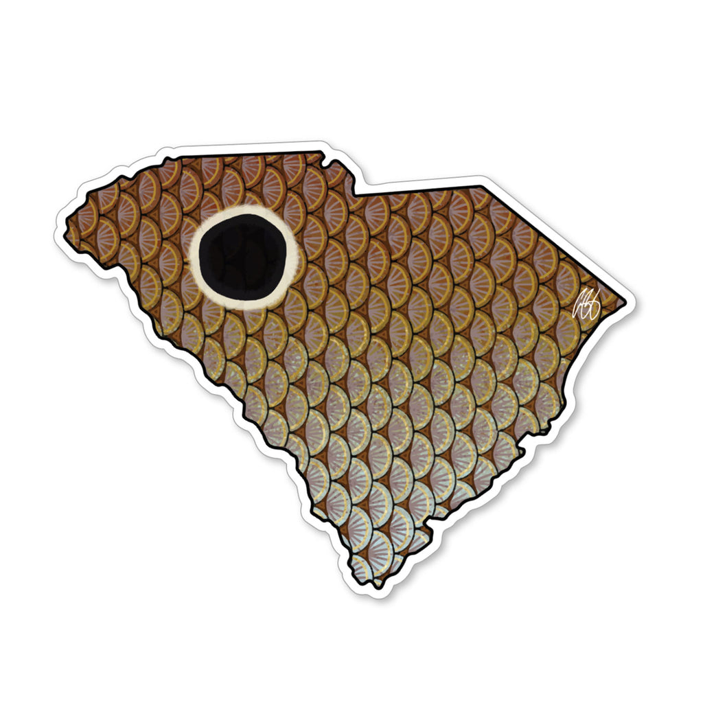 South Carolina Redfish Decal