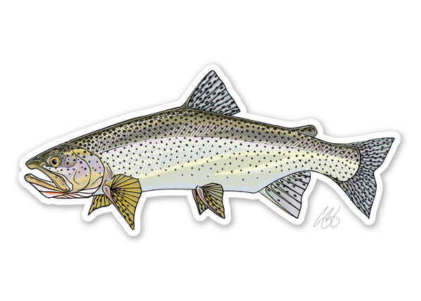 Sea Run Cutthroat Decal