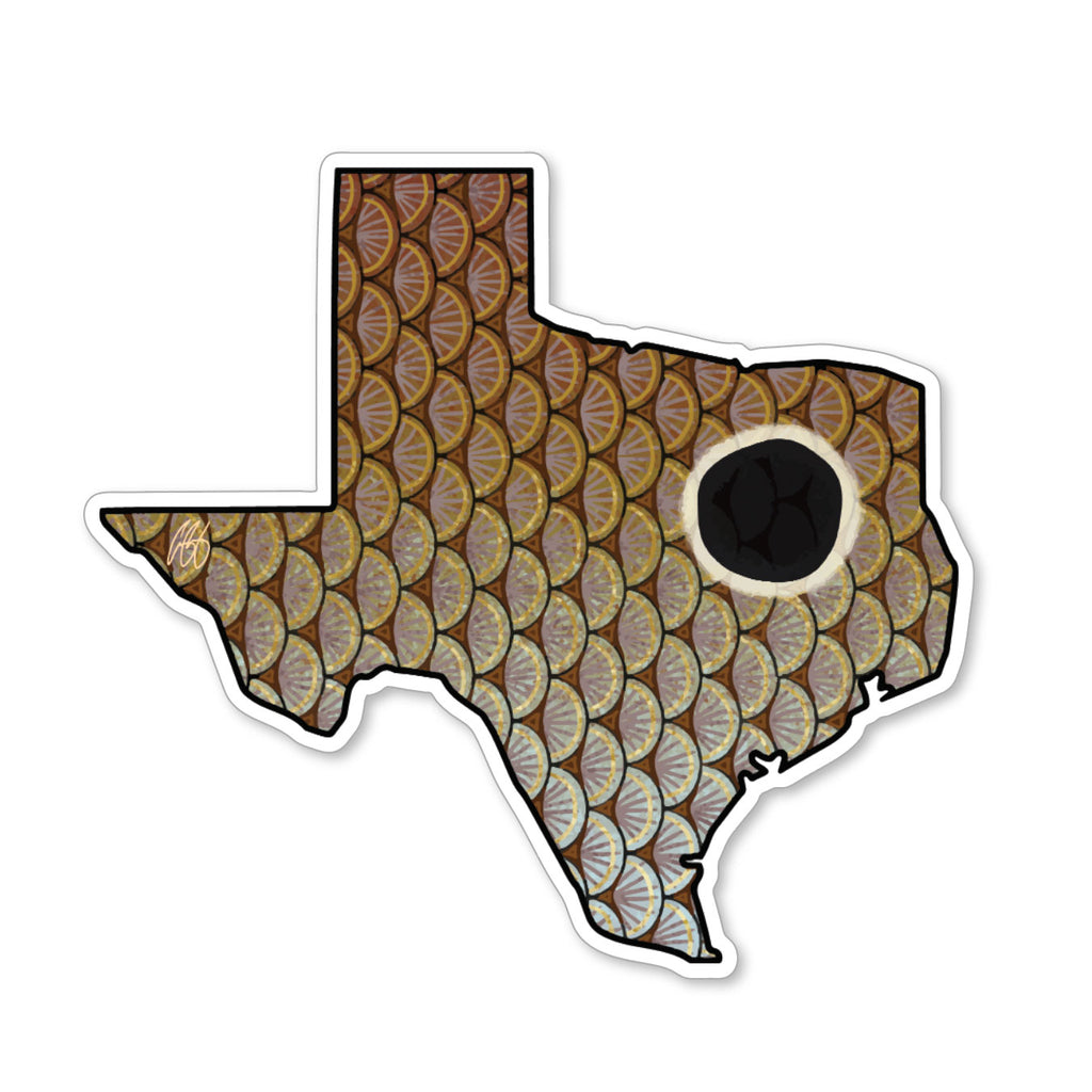 Texas Redfish Decal
