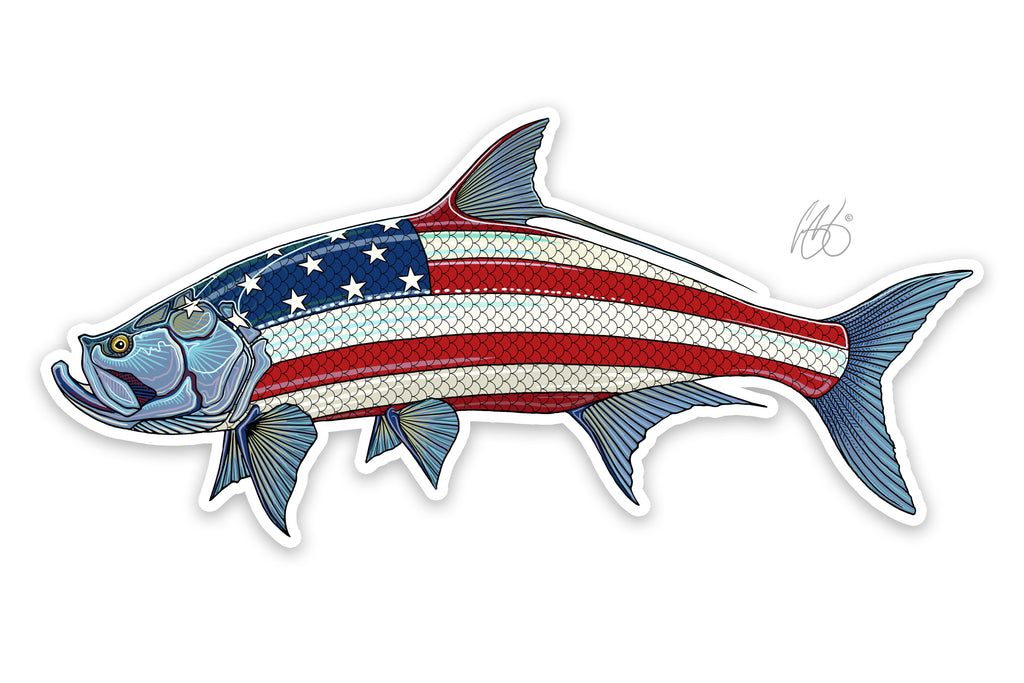 USA Tarpon Decal