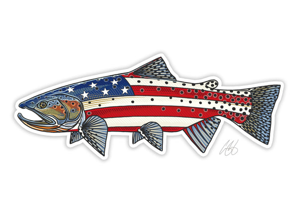 USA Cutthroat Decal