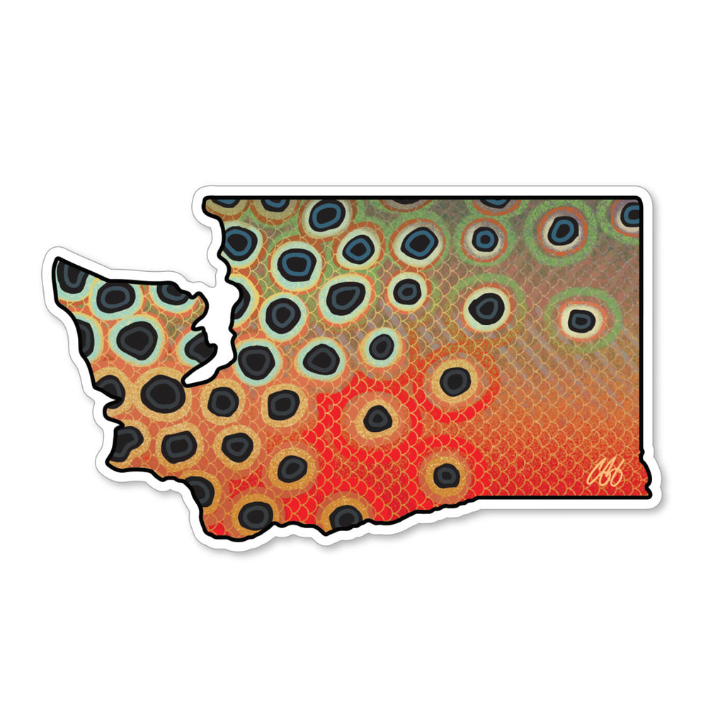 Washington Cutthroat Decal