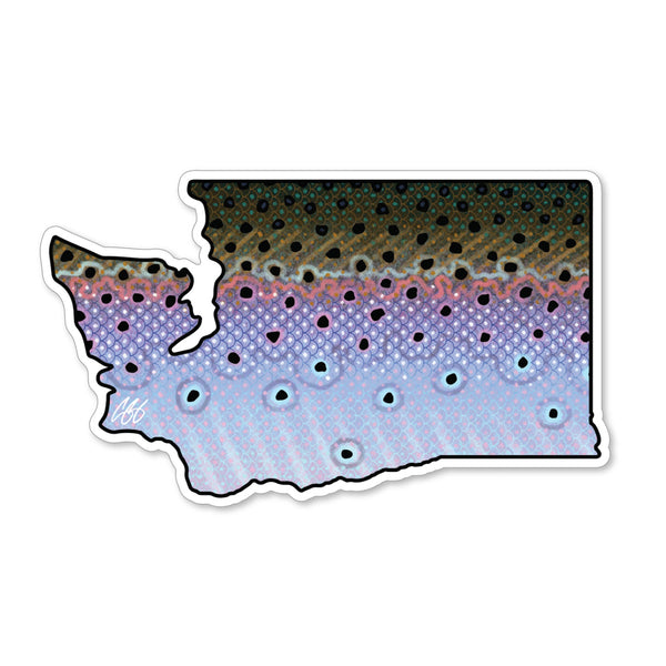 Washington Steelhead Decal
