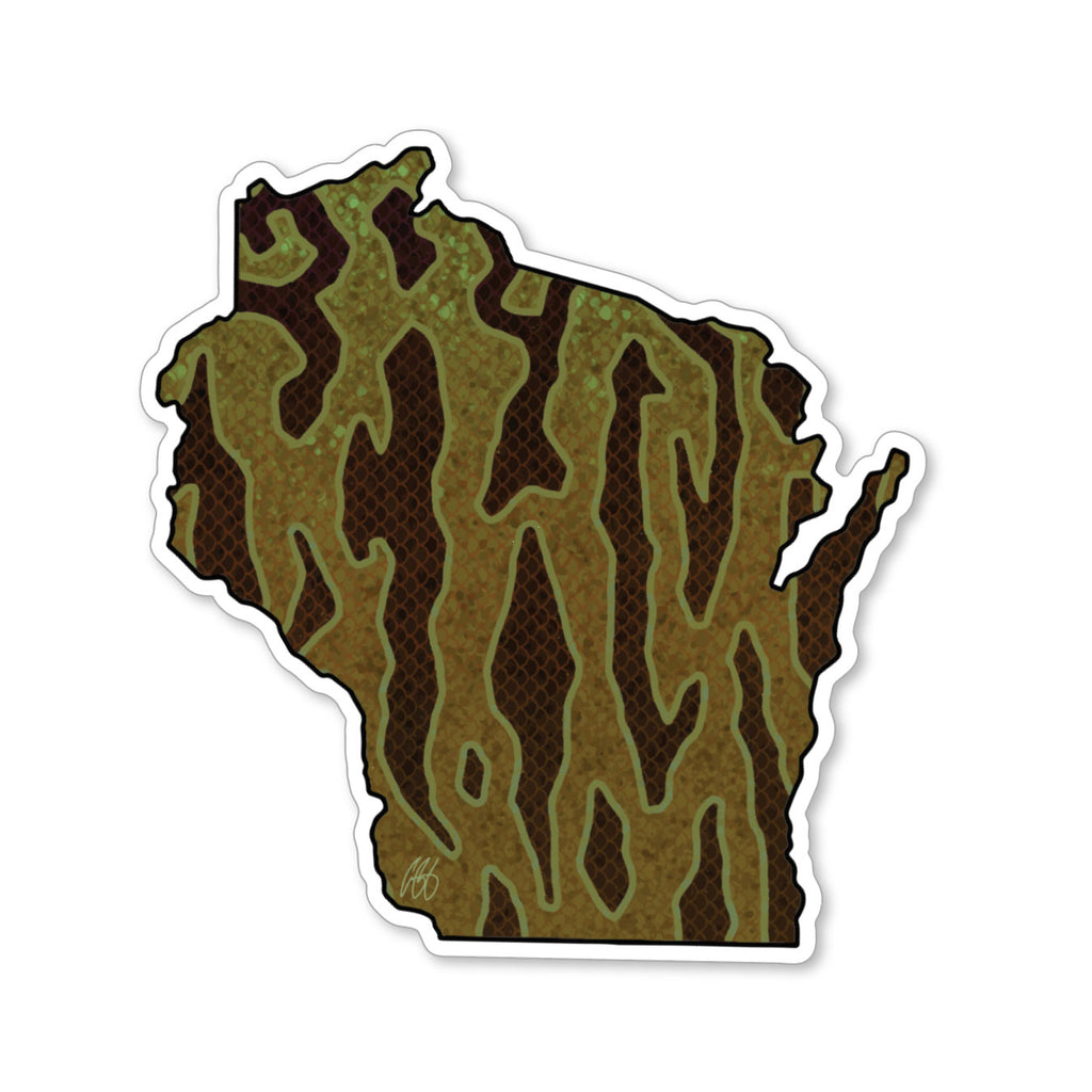 Wisconsin Smallmouth Decal