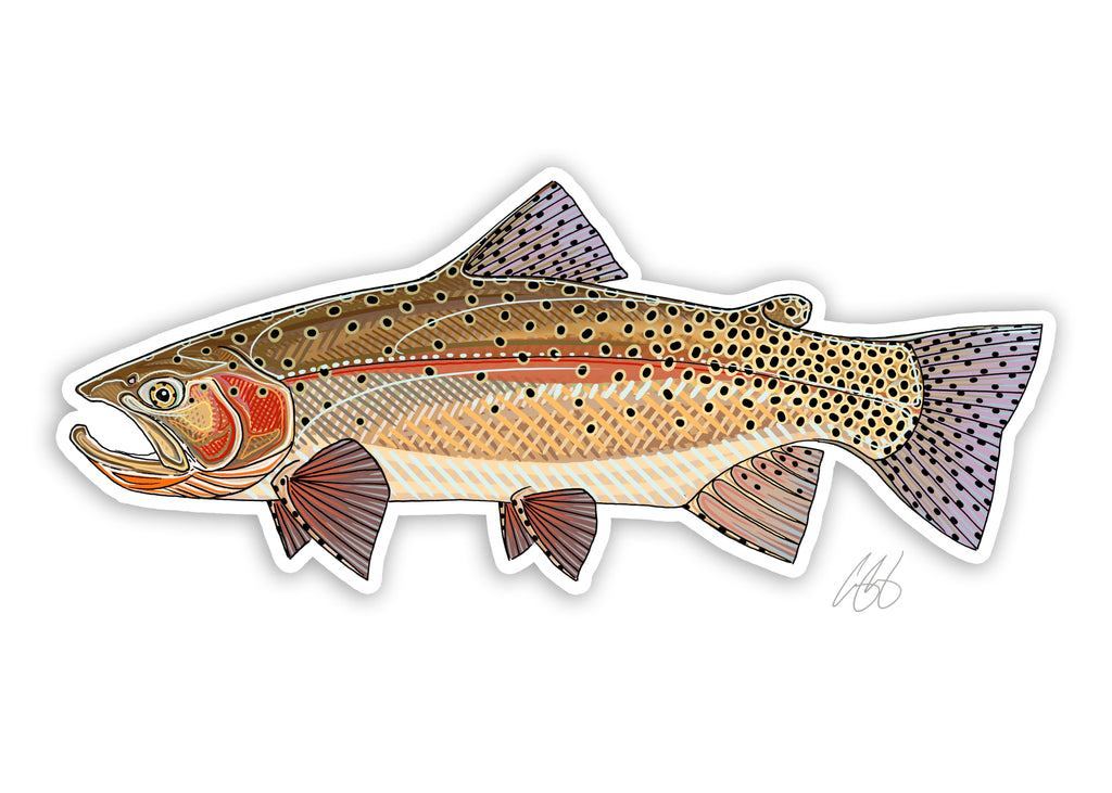 Yellowstone Cutthroat Decal