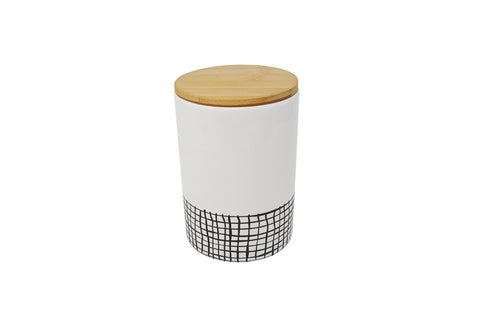 Checkered Canister