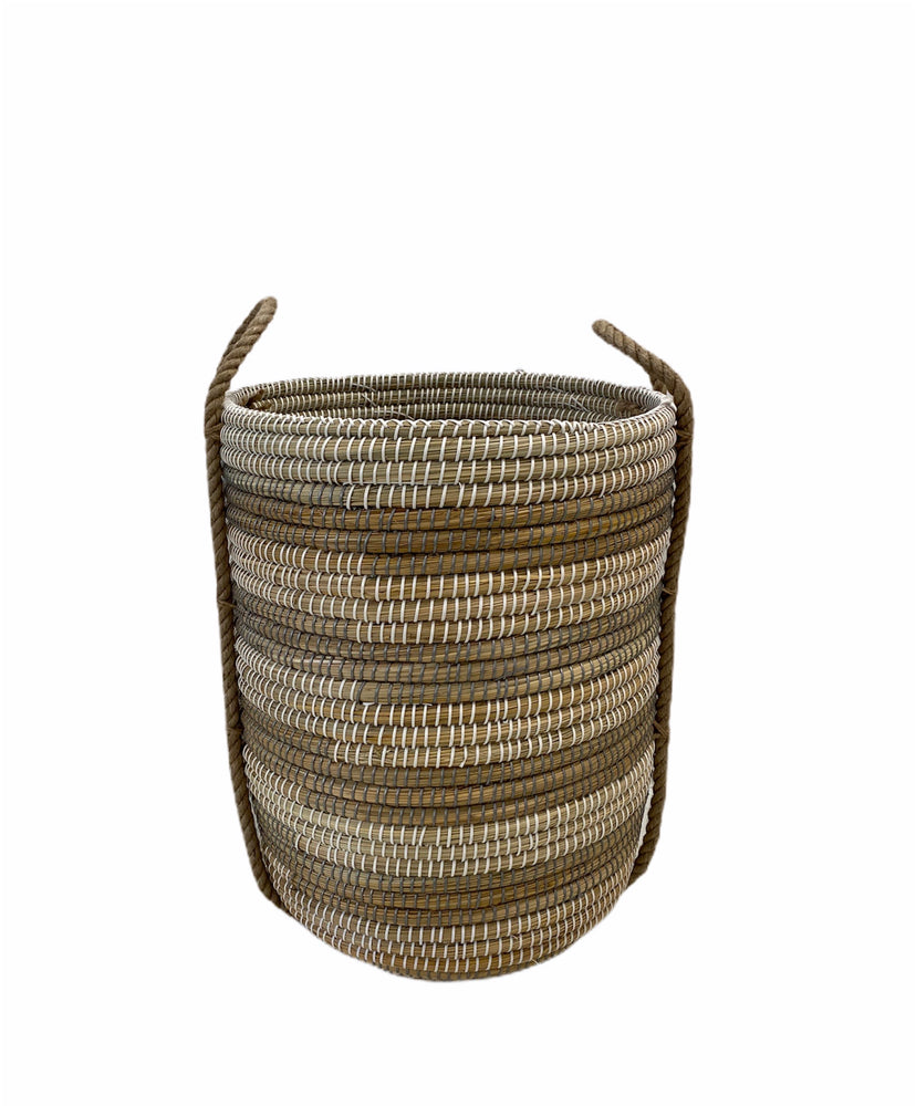 Load image into Gallery viewer, Coiled Grass Basket