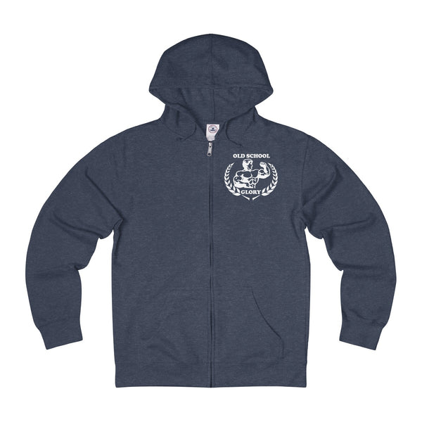 Denim Heather Full-zip Hoodie