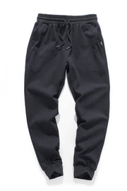 BLACK VINTAGE TRAINING SWEATPANTS