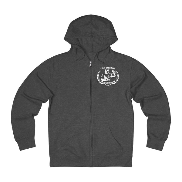 Dark Heather Full-zip Hoodie