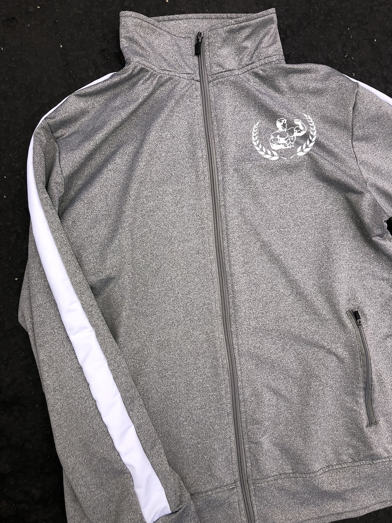 Grey Retro Tracksuit