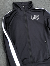 Black Retro Tracksuit