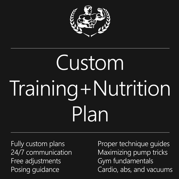 Package deal: Training & Meal Plan