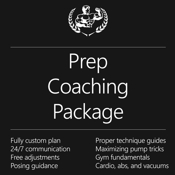 Prep Coaching Package