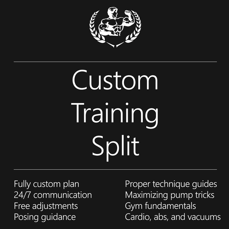 Custom Training Split