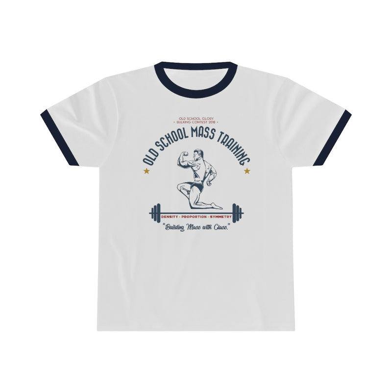 Mass Training Ringer Tee