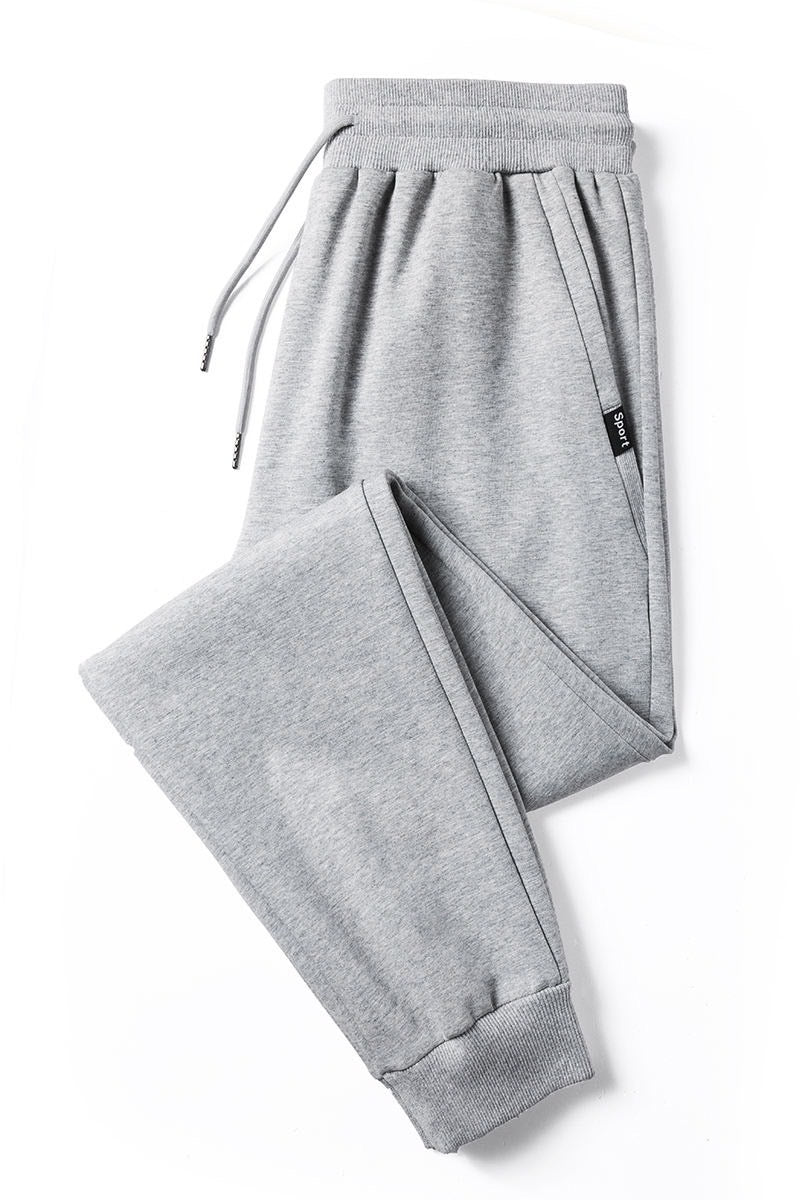GREY VINTAGE TRAINING SWEATPANTS