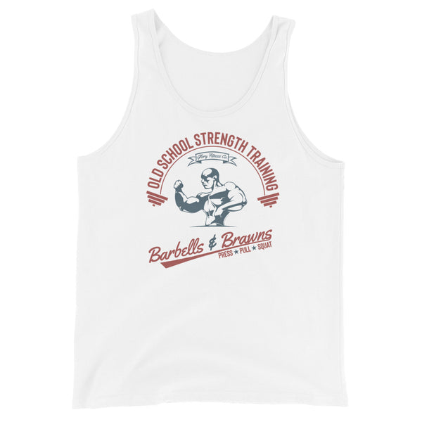 Retro Barbells & Brawns Tank