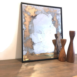Shimmering Bronze Splash Mirror