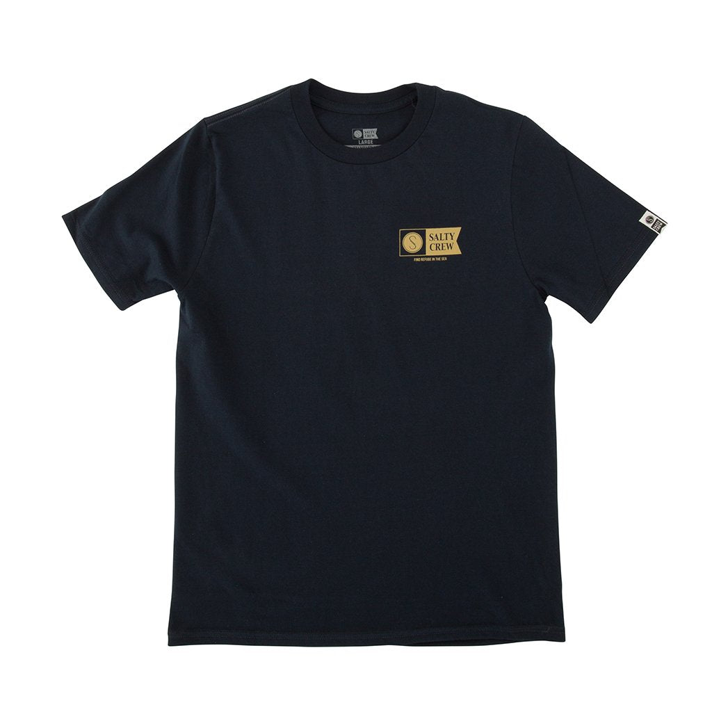 Alpha Refuge Boys S/S Tee NVY