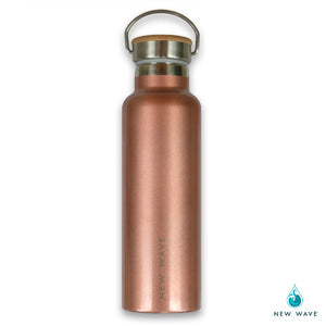 Water Bottle Rose Gold