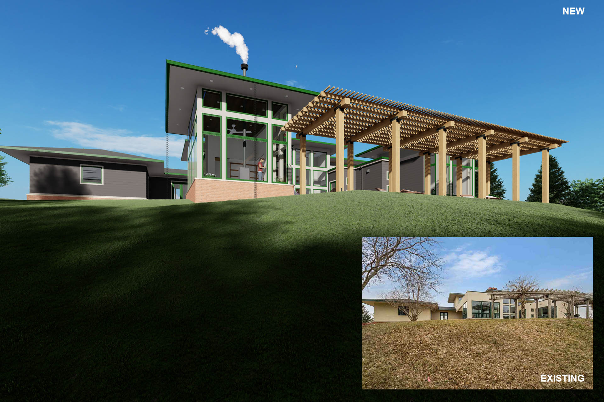 O1 Addition, Akar Architecture. Residential work, Iowa.