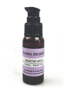 Natural Hair Serum scented with Lavender and musk. Made in Tasmania, Australia by i-Aroma