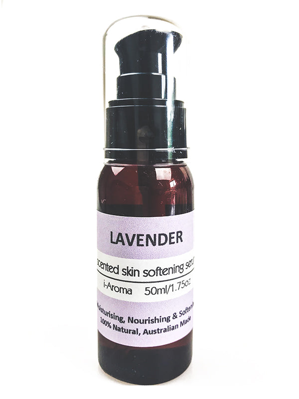 Lavender Natural Skin Serum for dry and damaged skin by i-Aroma