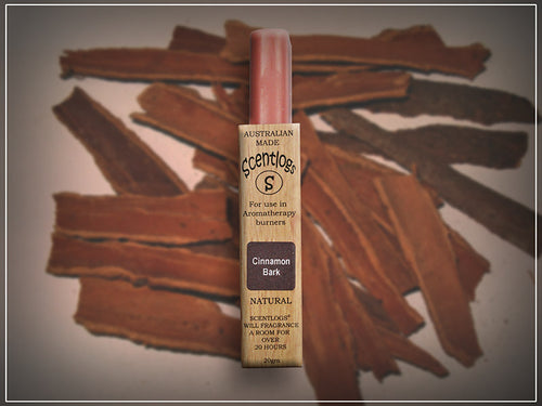 Cinnamon Bark Scentlogs natural soy wax melts