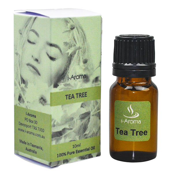 Pure Australian Tea Tree Essential oil traditionally used for its antibacterial, antifungal and antiseptic properties